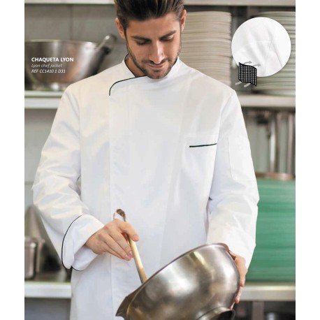 Chaqueta de cocina LYON