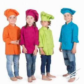 Gorro chef niños Blanco