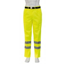 Pantalon alta visibilidad multibolsillos