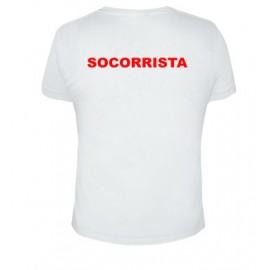 Camiseta Socorrista unisex