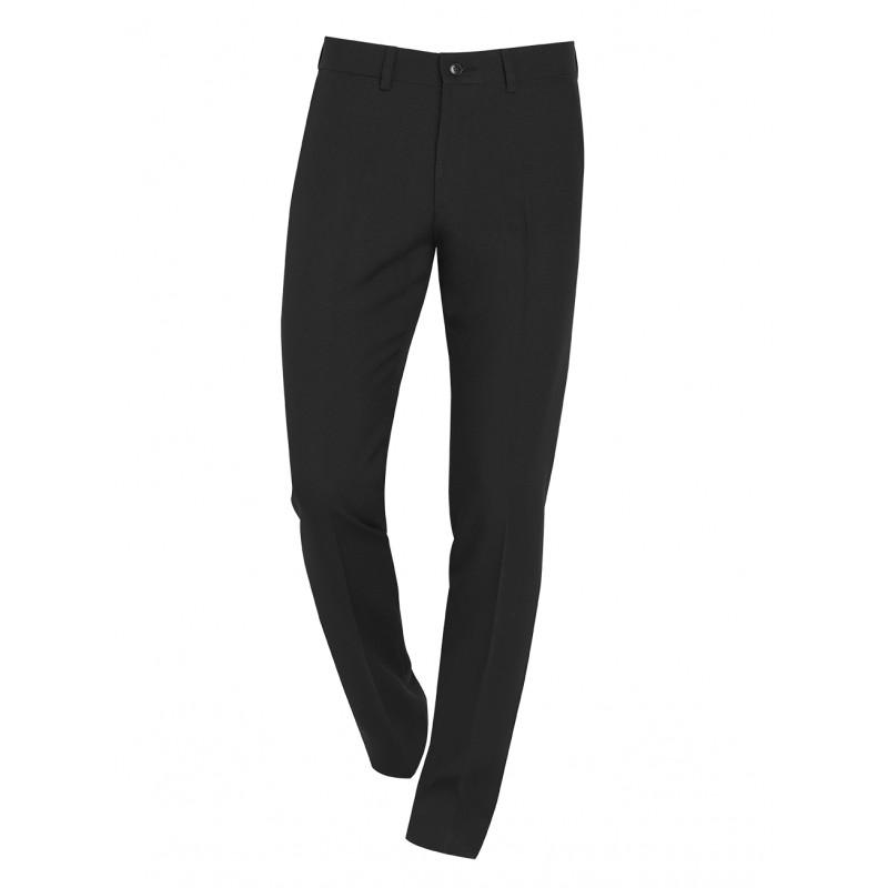 420ede029a Pantalon negro Slim Fit vestir caballero