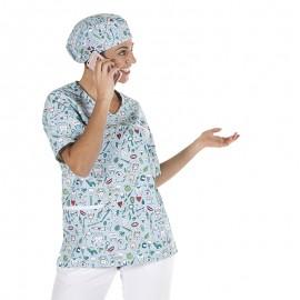 Blusa sanitaria microfibra