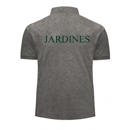 Polo manga corta Jardines