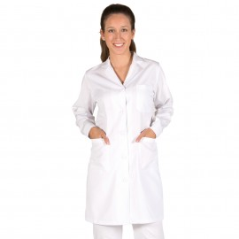 Bata Laboratorio  Mujer blanca Garys