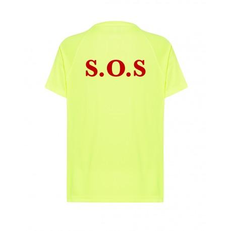 Camiseta socorrista técnica fluor