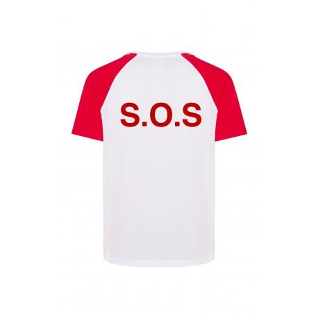 Camiseta SOCORRISTA bicolor