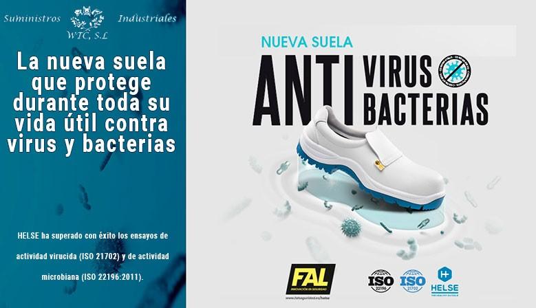 Zapatos antivirus